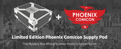 Supply Pod Limited Edition Phoenix Comicon Box