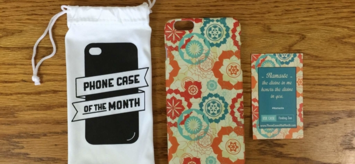 Phone Case of the Month Subscription Review + 50% Off Coupon – May 2016