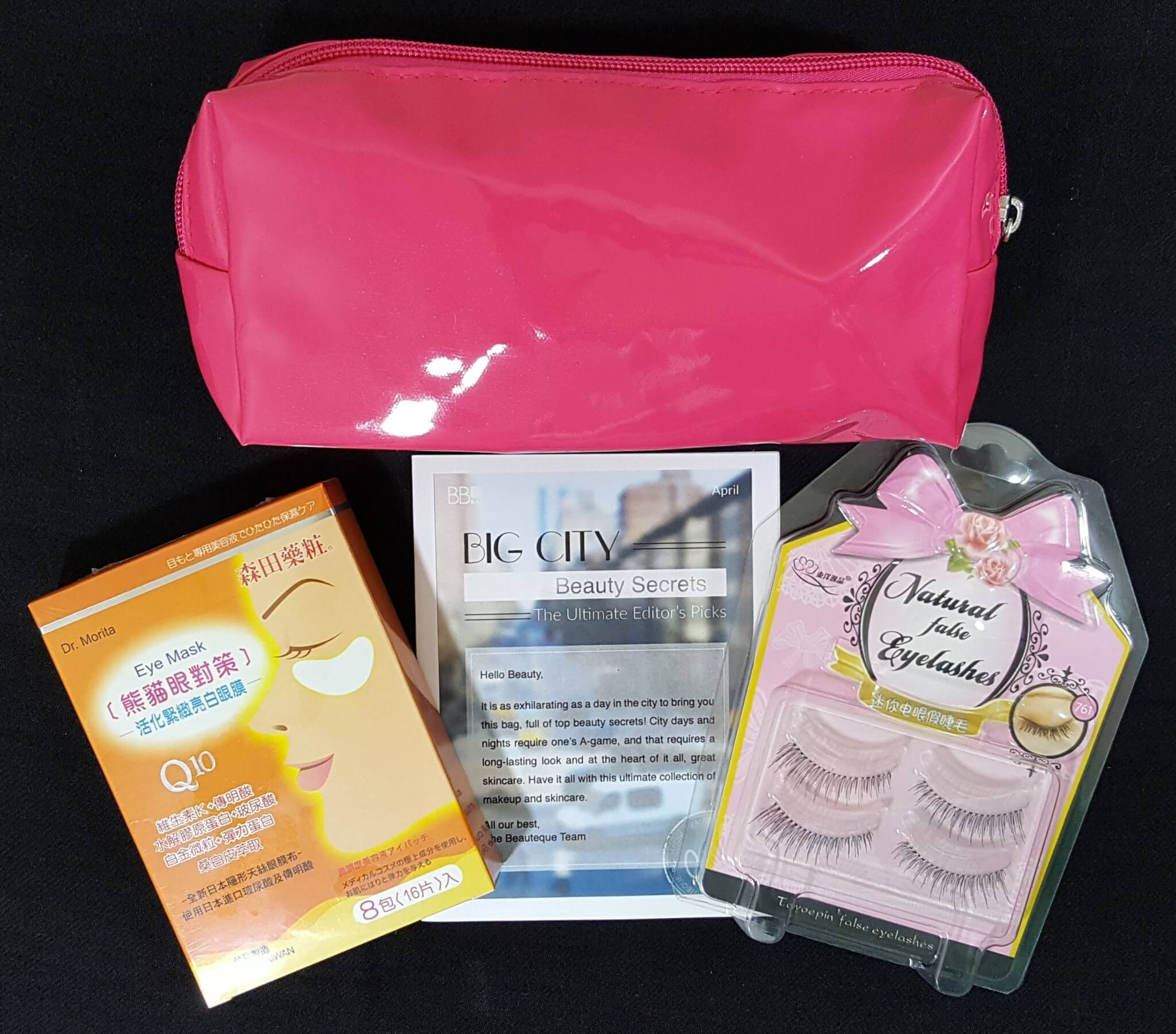 Beauteque BB Bag Subscription Box Review – April 2016