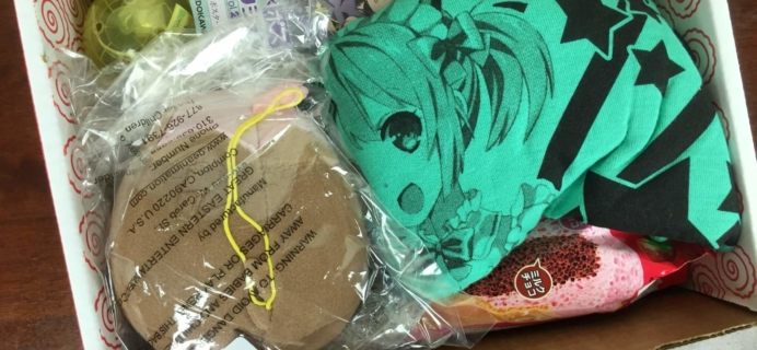 Anime Bento Subscription Box Review & Coupon – May 2016