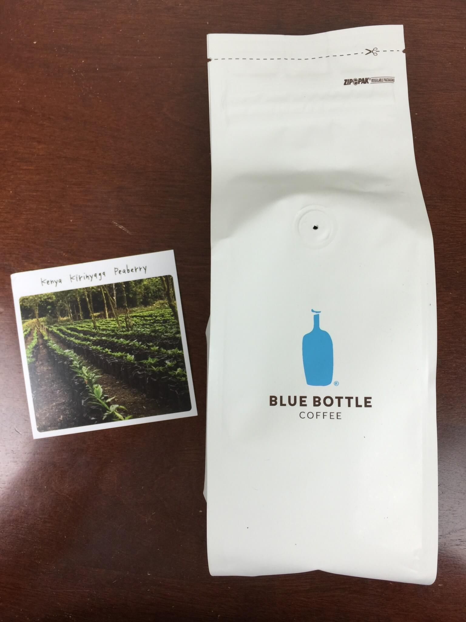 Blue Bottle Coffee Review + Free Trial Offer – May 2016
