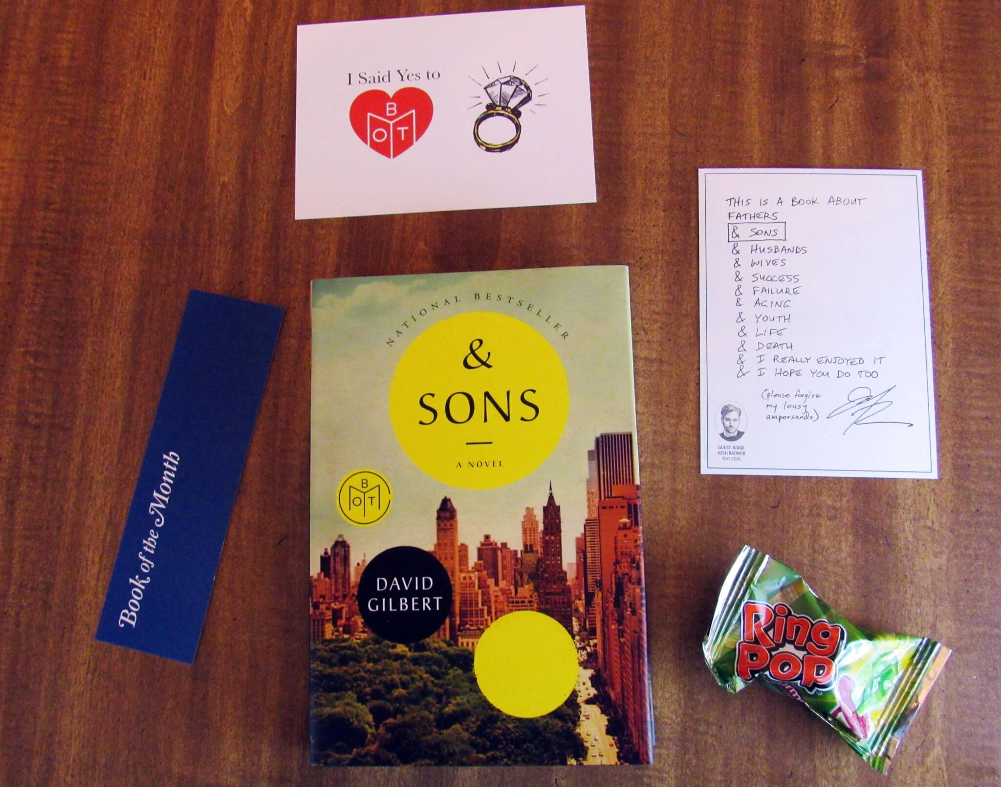 Book of the Month May 2016 Subscription Box Review + Coupon