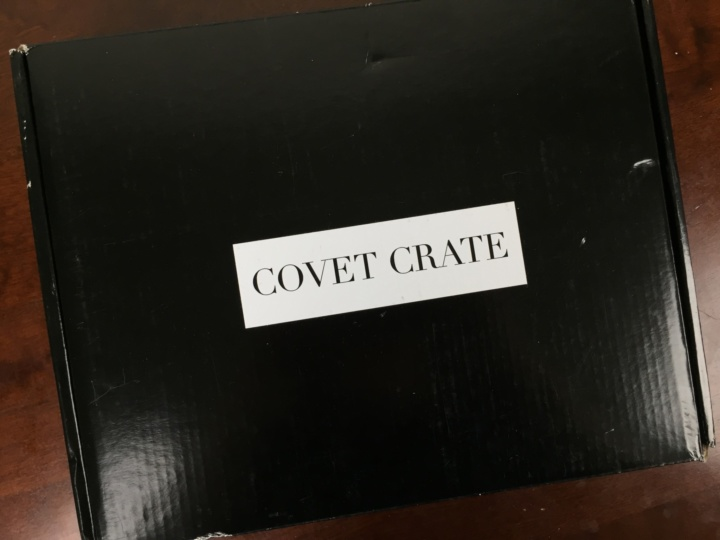 Covet Crate May 2016 box