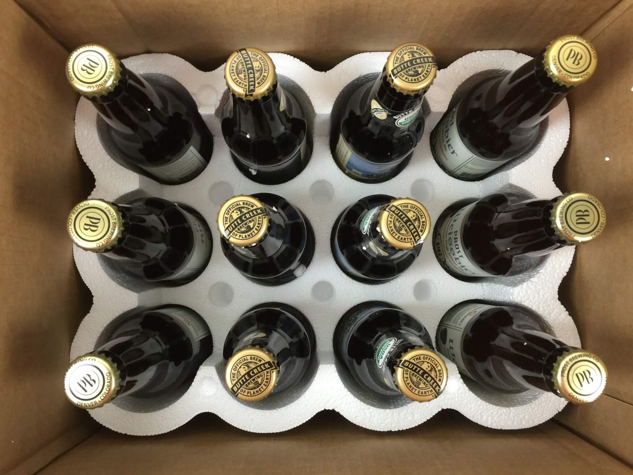 Craft Beer Club Box May 2016 unboxed