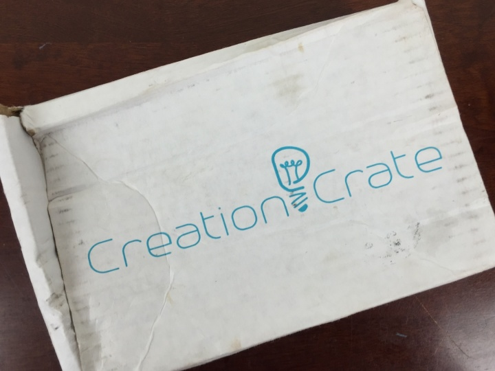 Creation Crate May 2016 box