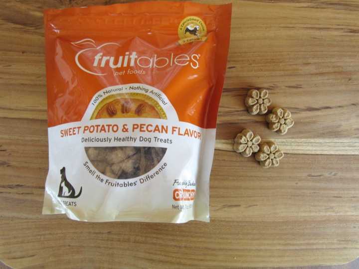 Fruitables Sweet Potato & Pecan Flavor Treats