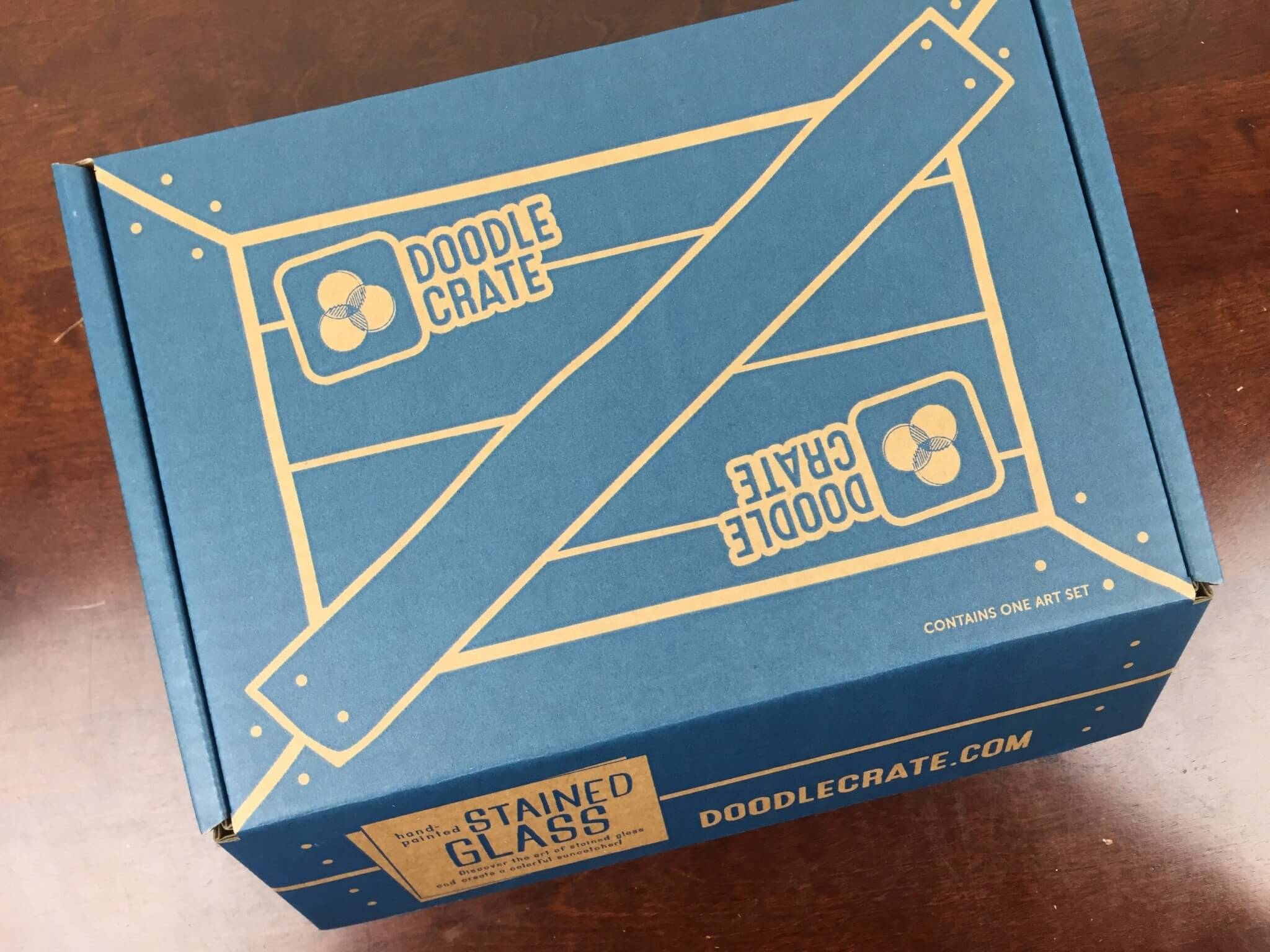 Doodle Crate May 2016 box