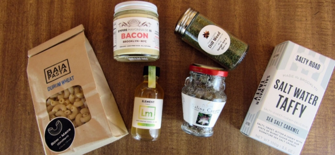 Taste Club: Pantry Box April 2016 Subscription Box Review & 50% Off Coupon