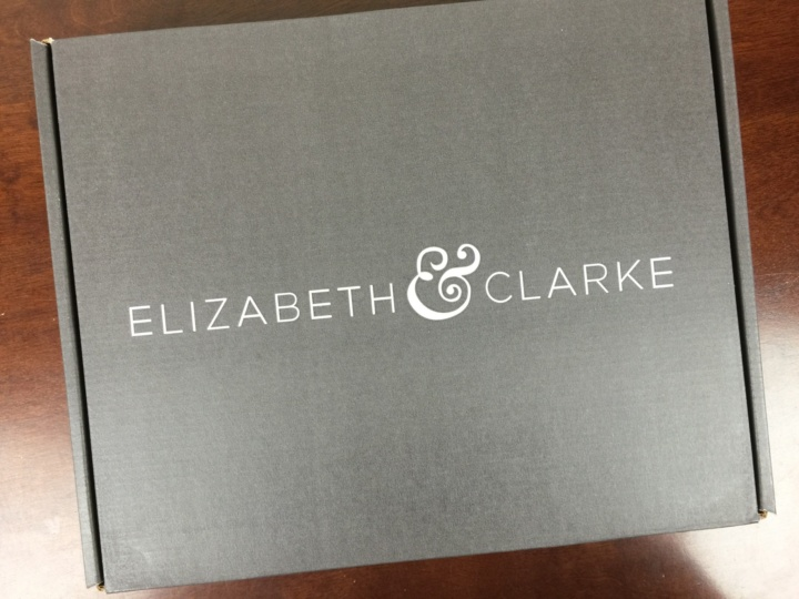 Elizabeth & Clarke The Unstainable Collection May 2016 box