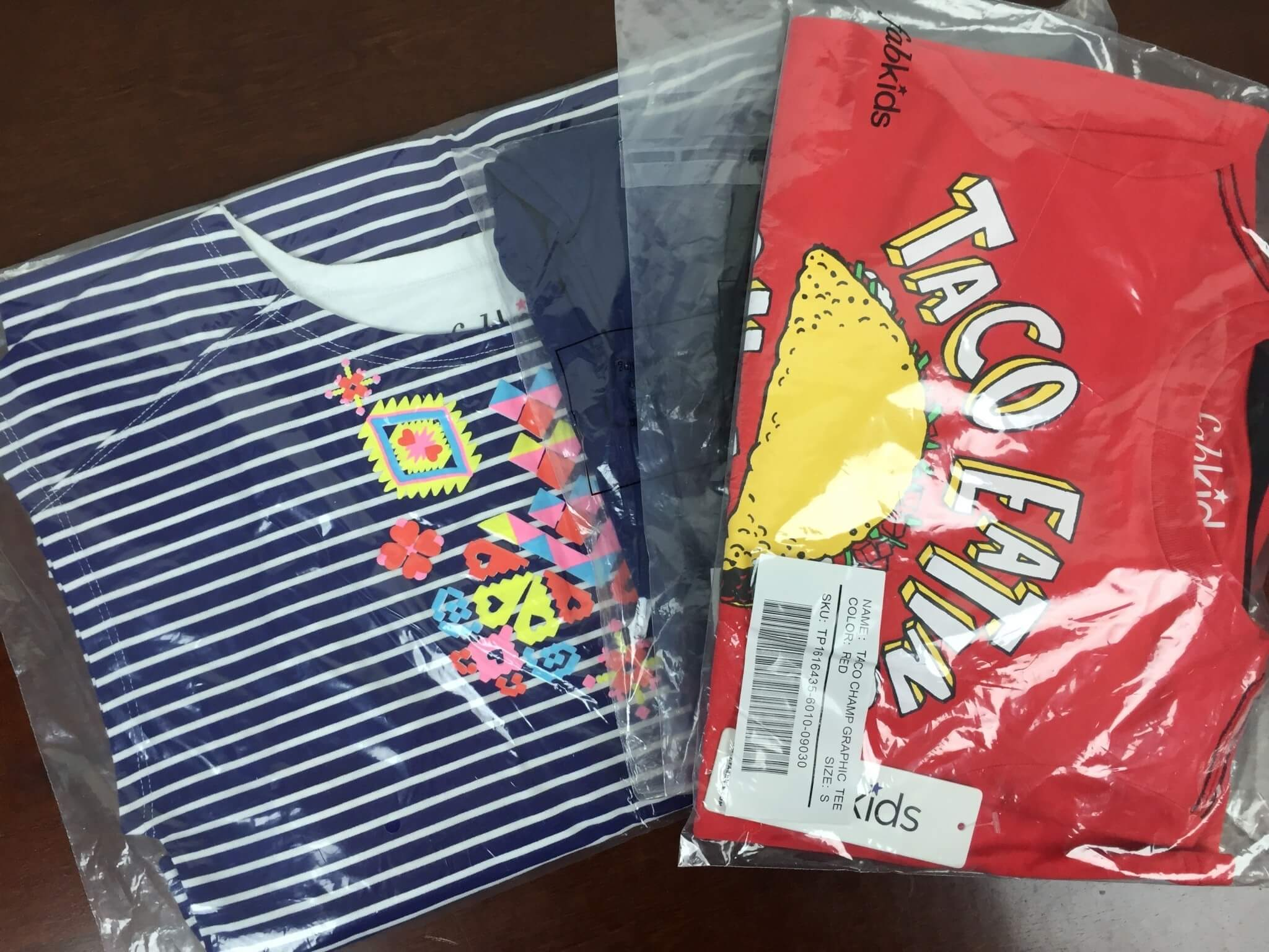 FabKids May 2016 unboxed
