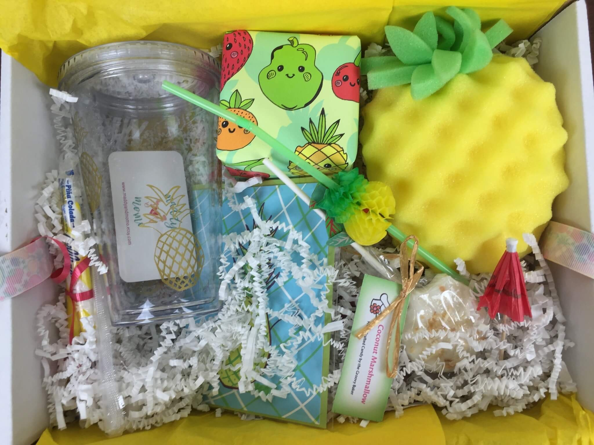 Fruit For Thought Box May-June 2016 unboxed