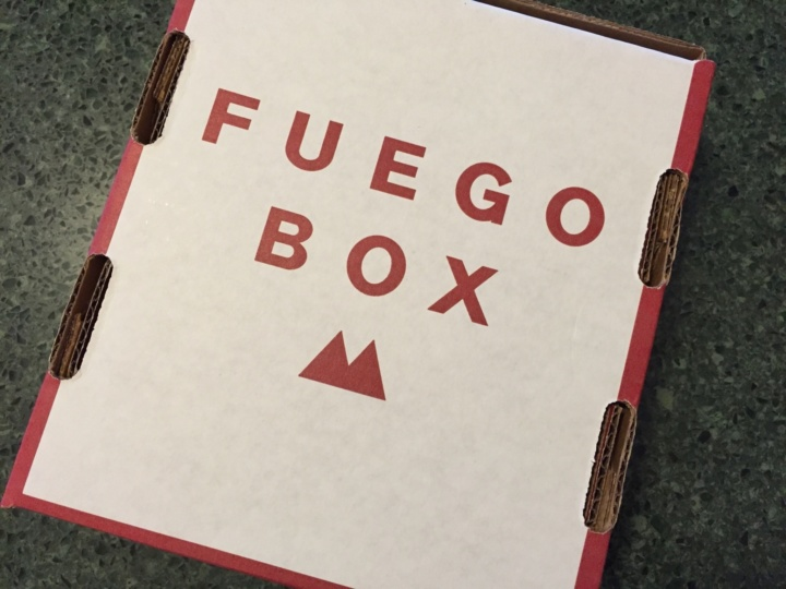 Fuego Box May 2016 unboxing
