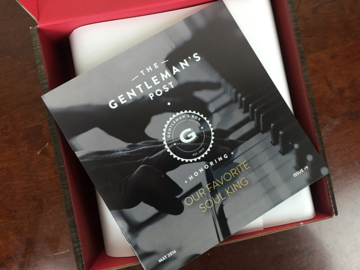 Gentleman's Box May 2016 unboxing