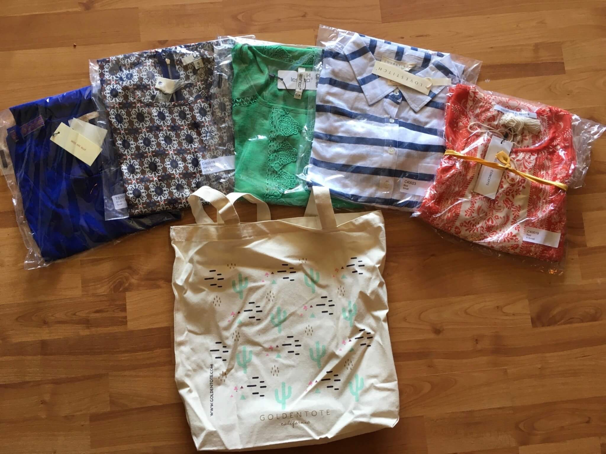 Golden Tote $149 May 2016 review