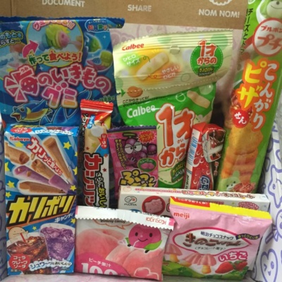 Japan Candy Box May 2016 Subscription Box Review + Giveaway