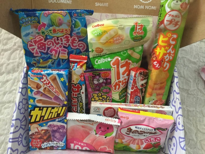 Japan Candy Box March 2016 Subscription Box Review Giveaway