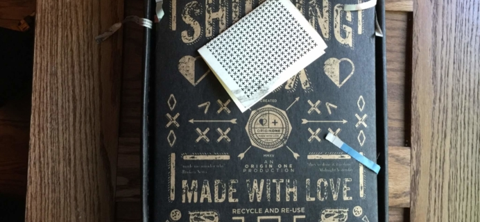 ORIGINONE May 2016 Stationery Box Subscription Review
