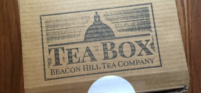 Beacon Hill Tea Company Tea Box May 2016 S