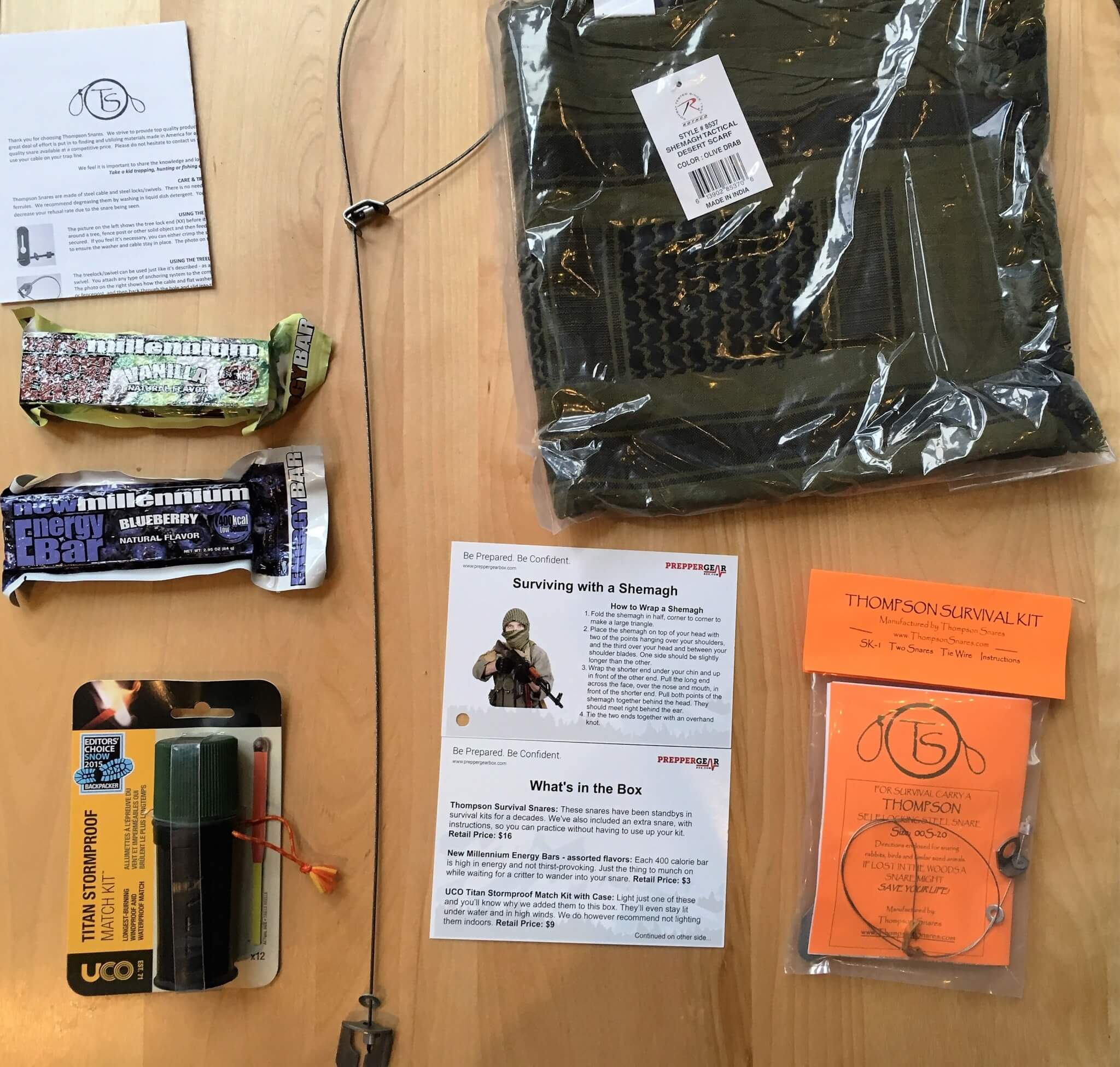 Prepper Gear Box May 2016 Subscription Box Review & Coupon