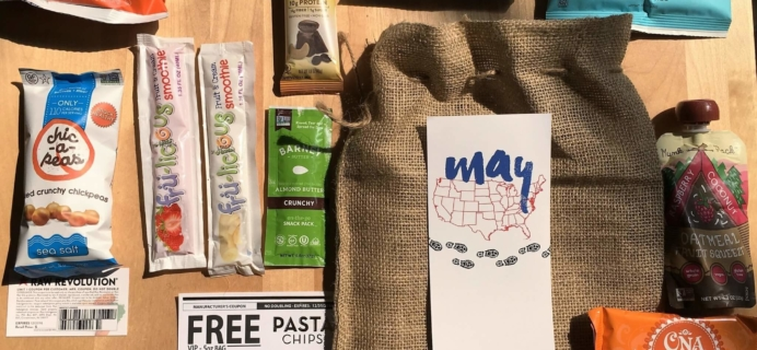Snack Sack May 2016 Subscription Box Review & Coupon