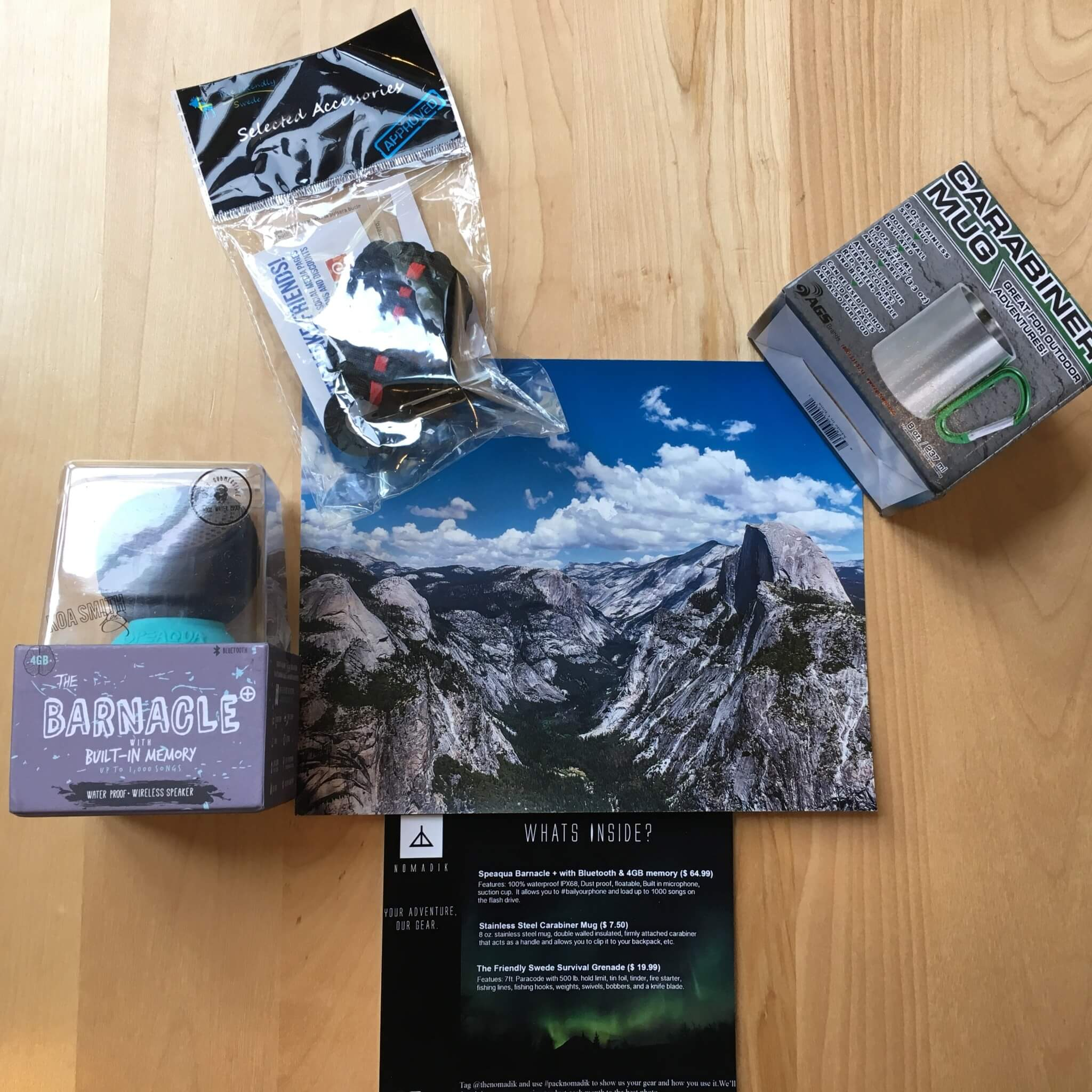 Nomadik May 2016 Subscription Box Review + Coupon