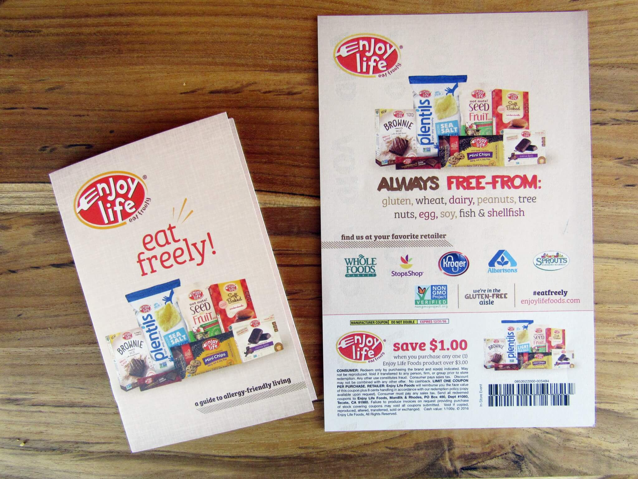 Booklet and COupon