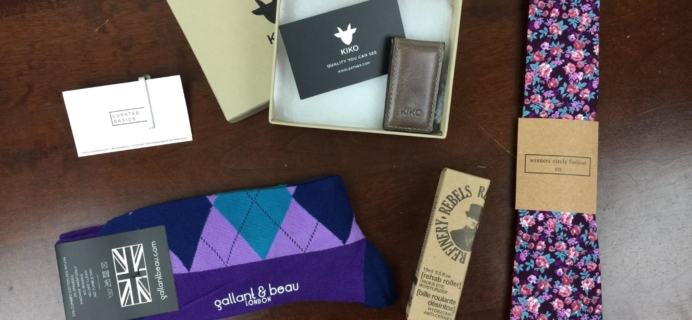 Menswear Club Subscription Box Review – May 2016