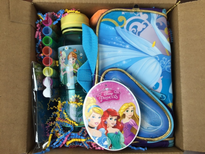 Mickey Monthly Box May 2016 unboxing