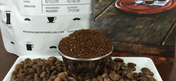Moustache Coffee Club Subscription Review + Coupon – May 2016