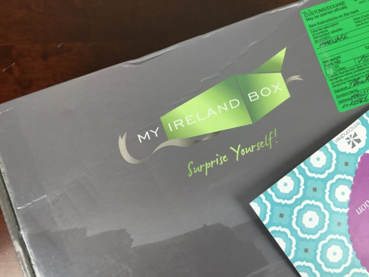 My Ireland Box May 2016 box