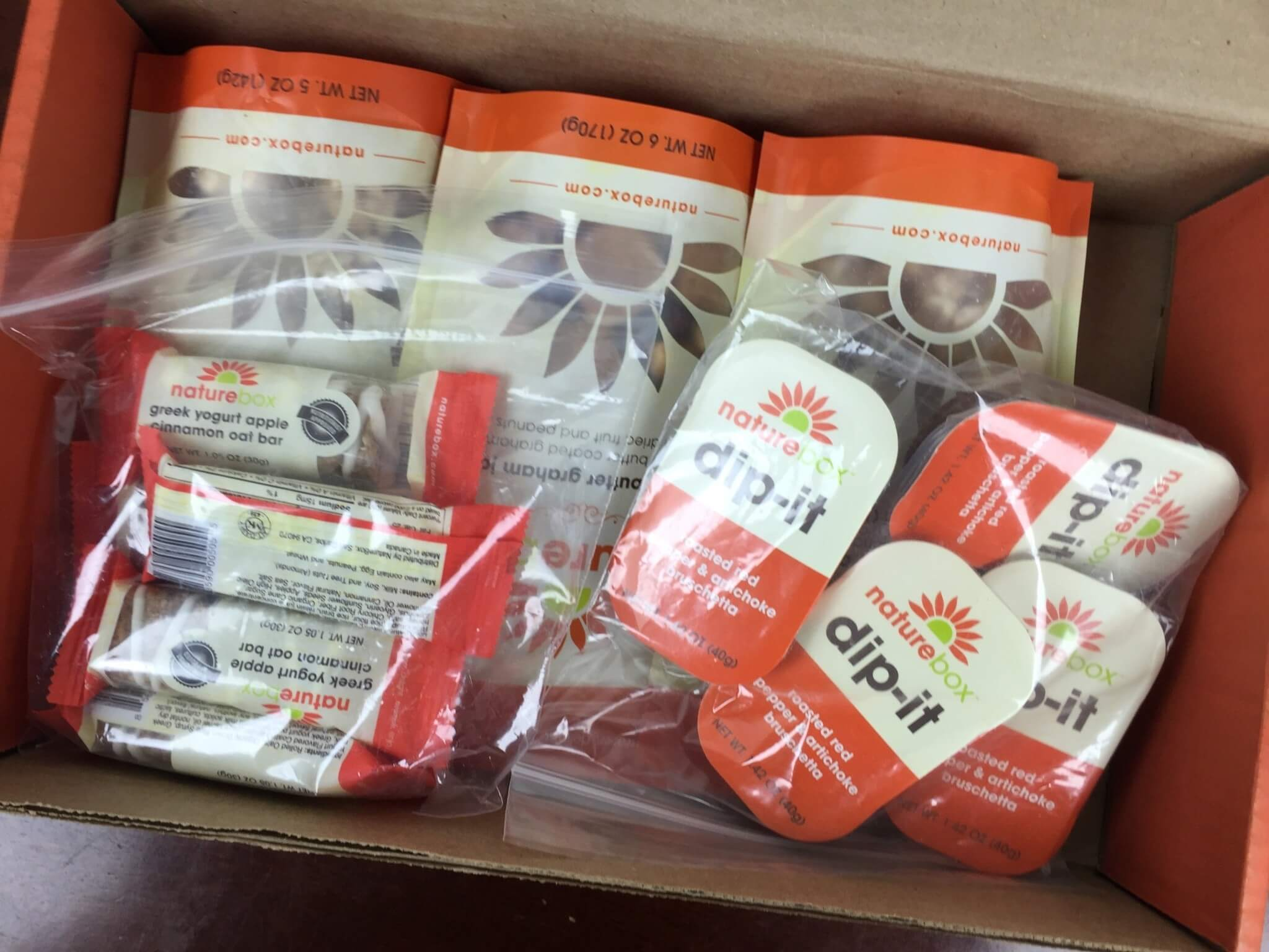 NatureBox June 2016 unboxing