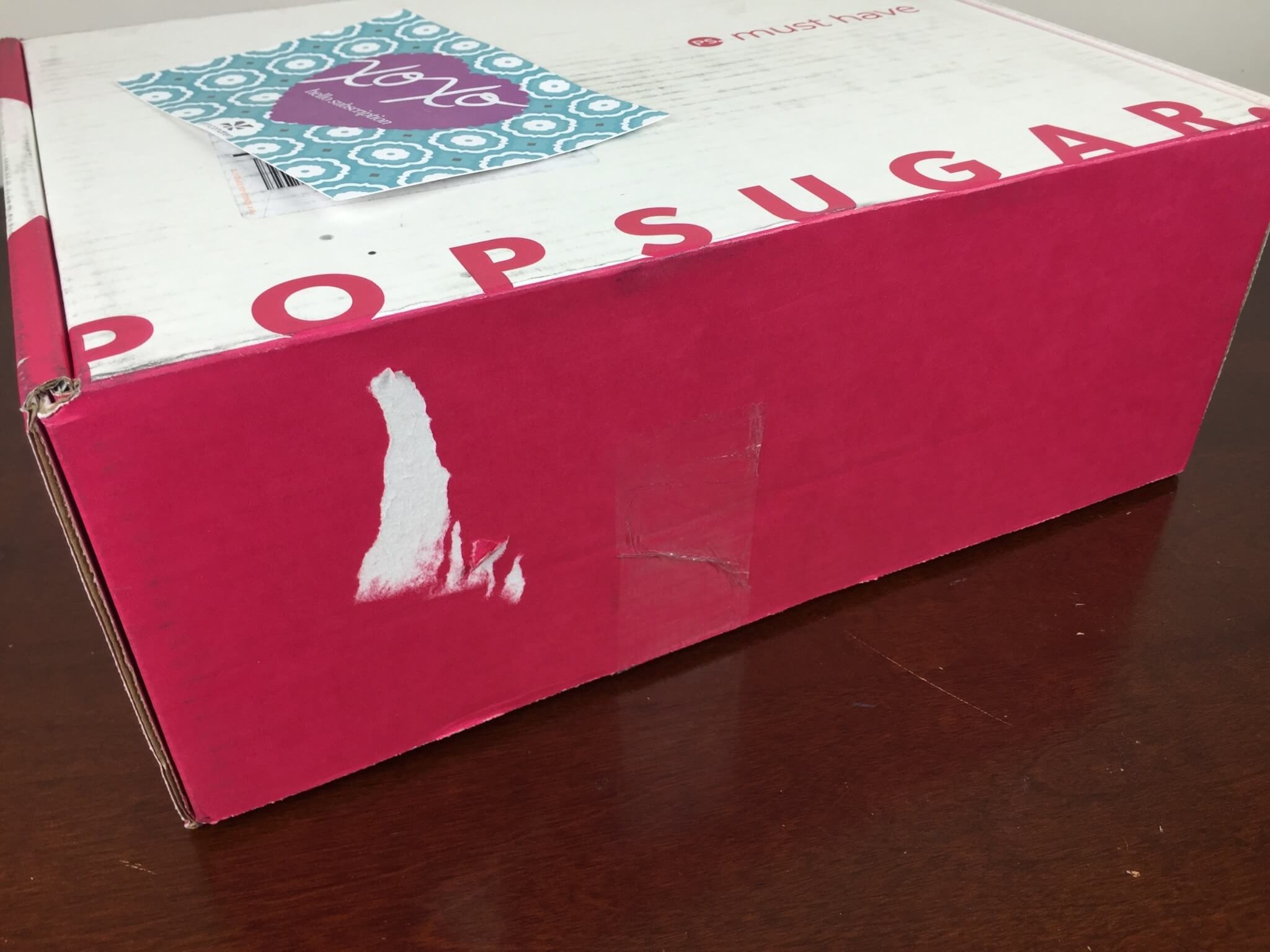 POPSUGAR must have box may 2016 box