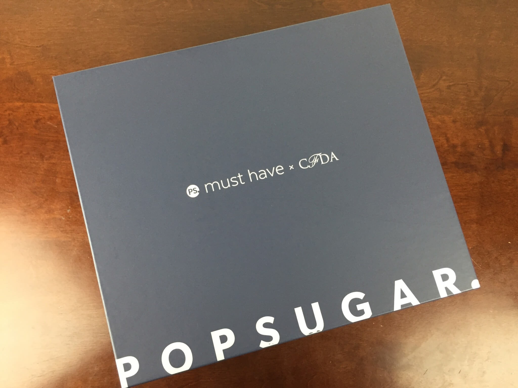 POPSUGAR must have cfda special edition 2016 box