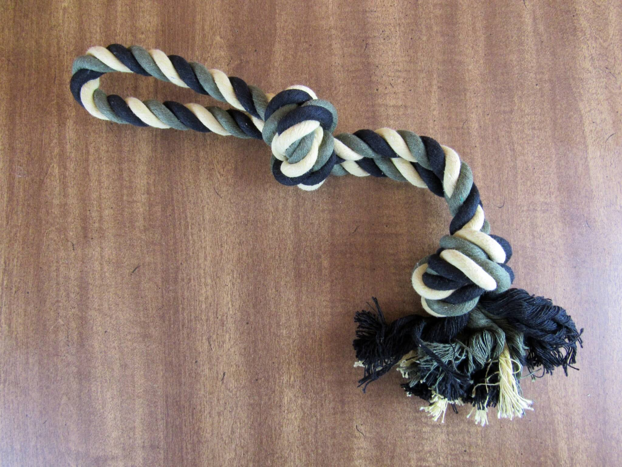 U.S. Army Knotted Rope Toy