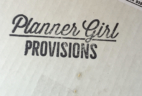 Planner Girl Provisions May 2016 Subscription Box Review