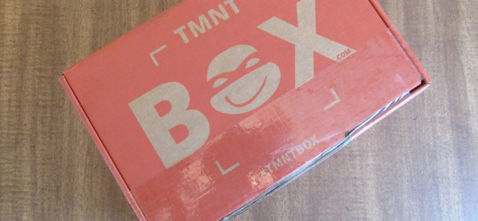 TMNT Box June 2016 Subscription Box Review