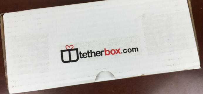 TetherBox April 2016 Subscription Box Review & Coupon