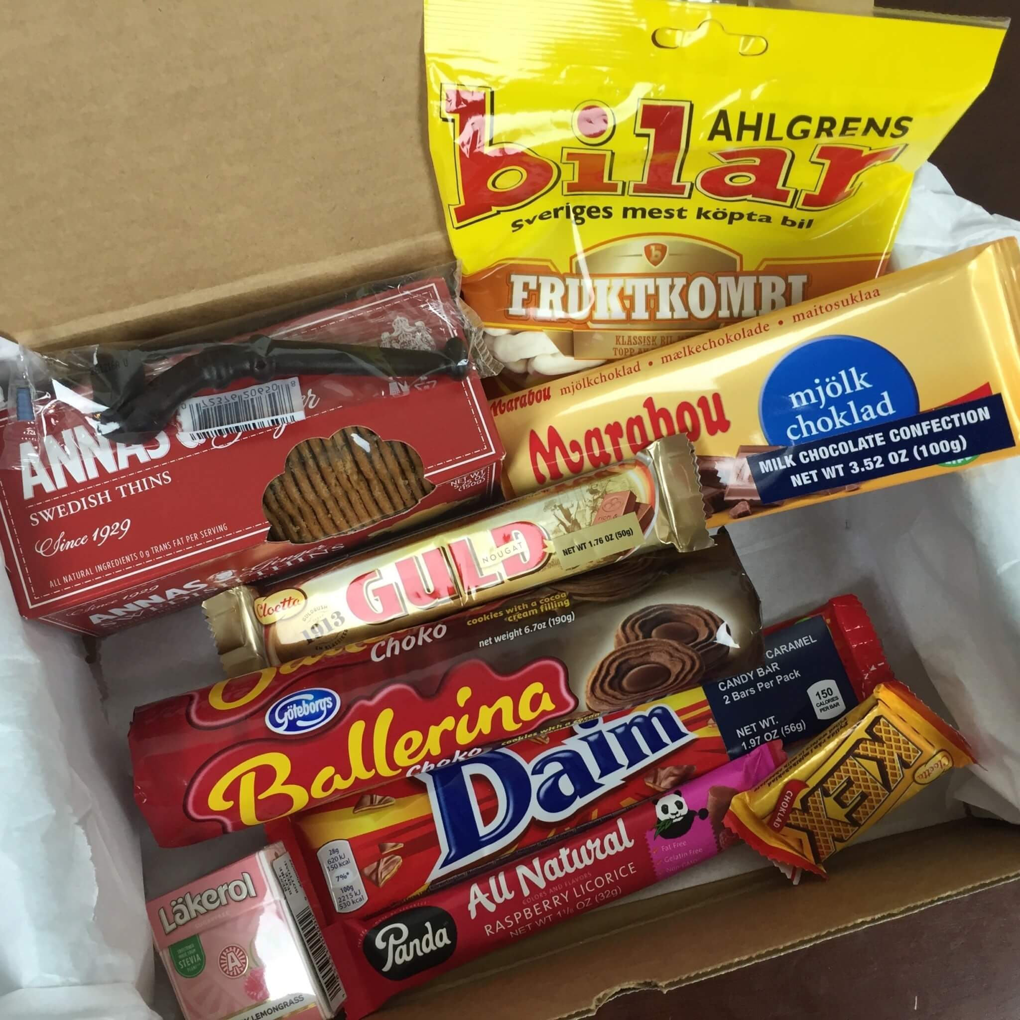Treats Box May 2016 Review & Coupon – Sweden!
