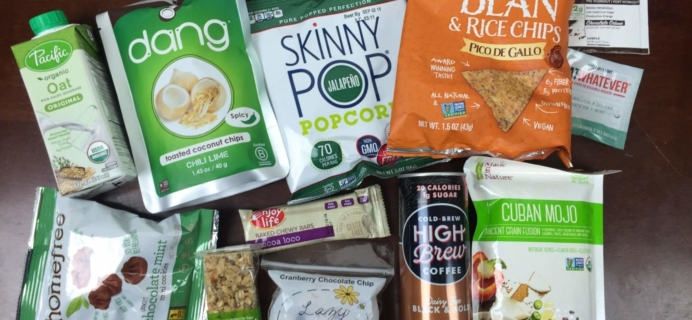 Vegan Cuts Snack Box May 2016 Subscription Box Review