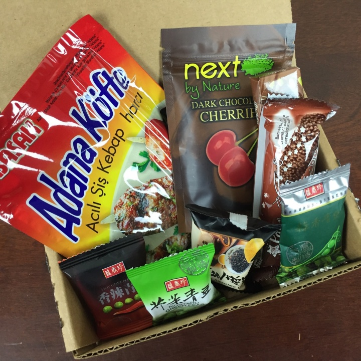 Yummy Bazaar Mini Sampler Box April 2016 review