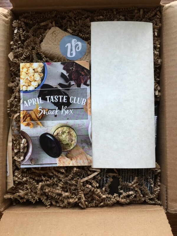 April 2016 Taste Club: Snack Subscription Box Review + Coupon