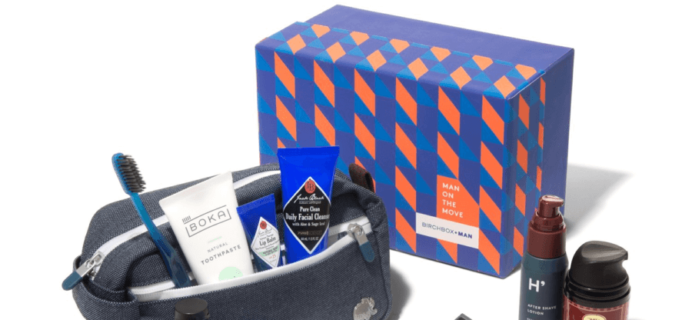 Birchbox Man on the Move Limited Edition Box Now Available + Bonus Gifts!