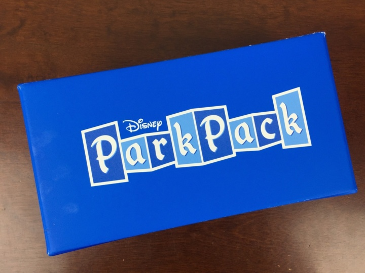 disney park pack may 2016 box