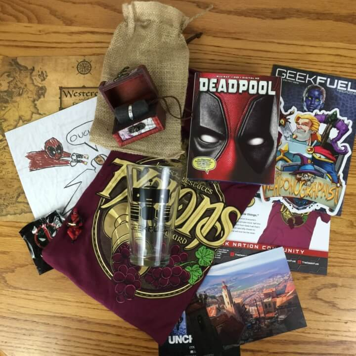 Geek Fuel May 2016 Subscription Box Review & Coupon – Still Available!
