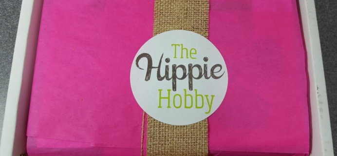 The Hippie Hobby May-June 2016 Subscription Box Review & Coupon