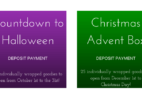 StitchyBox Countdown to Halloween & Christmas Advent Boxes Available For Pre-Order!