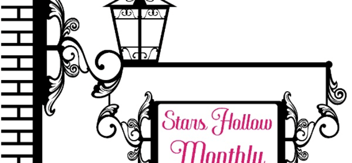 Stars Hollow Gilmore Girls Subscription Box April 2017 Spoiler!