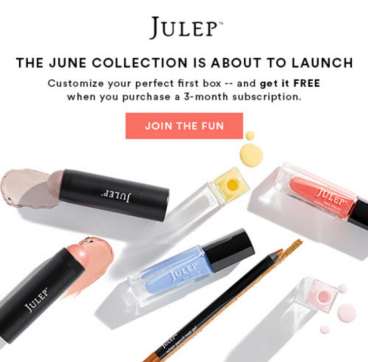 Julep Beauty Box June 2016 Sneak Peek + Free Box Coupon