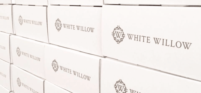White Willow Box Holiday 2016 Limited Edition Boxes Available Now!