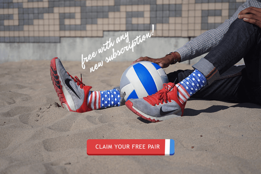 Sock Fancy Memorial Day Deal: Free American Heather Sock With Subscription
